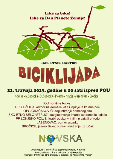 Biciklijada _Like za bike Novska!_