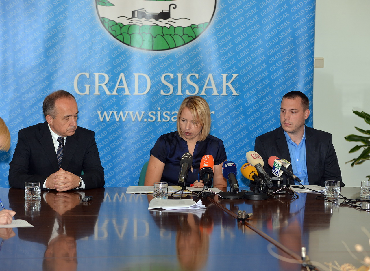 grad sisak press kriscka anducic ikic