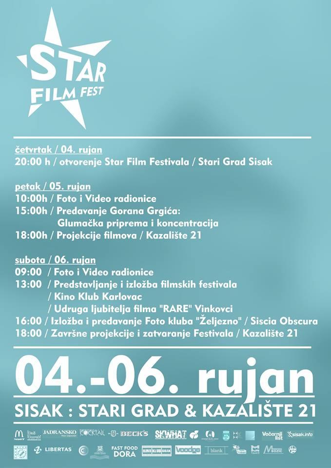 Plakat Star Film Fest