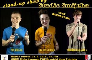 PLAKAT - stand up show u Petrinji