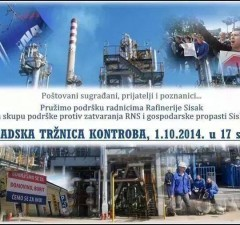 rafinerija prosvjed