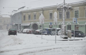 Snijeg u Sisku