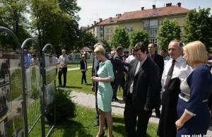 Obilježavanje sedamdesete godišnjice oslobođenja Siska 5. svibnja 1945. godine
