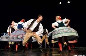 Nastup Gaudeamusa iz Praga u Sisku