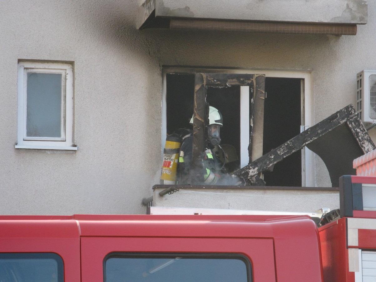 Požar u stanu u Sisku