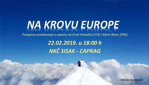 Predstavljanje Hrvatskog planinarskog društva Sisak