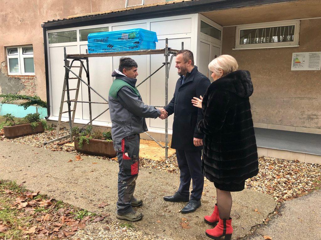 Započeli radovi na energetskoj obnovi objekata bolnice u Popovači