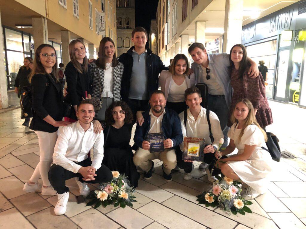 Mladi iz Volodera uspješni na festivalu duhovne glazbe u Zadru